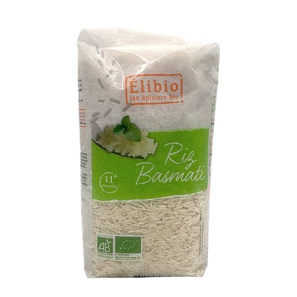 RIZ BASMATI BLANC 1Kg - ELIBIO / CANOPY
