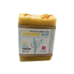 SHAMPOOING SOLIDE HUILE DE NOIX ET ROMARIN 140g - KANKAN 2 / CANOPY