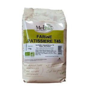 FARINE T45 PÂTISSERIE FRANCE 1kg - MELBIO / CANOPY