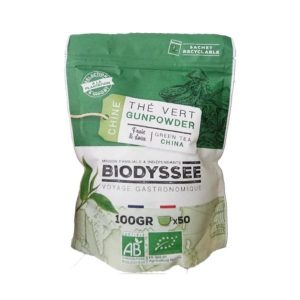 THE VERT GUNPOWDER DE CHINE 100G - BIODYSSEE / CANOPY