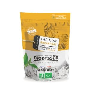 THE NOIR BREAKFAST DE CEYLAN 100G - BIODYSSEE / CANOPY