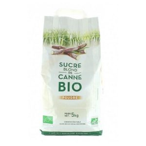 SUCRE BLOND DE CANNE 5kg - L&H / CANOPY