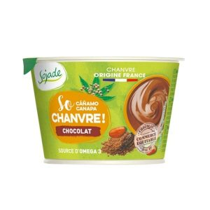 YAOURT SO CHANVRE CHOCOLAT 180g - SOJADE / Canopy