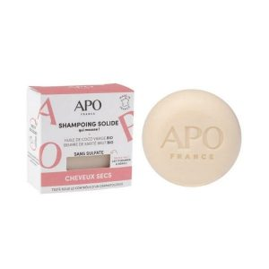 SHAMPOING SOLIDE CHEVEUX SECS 75g - APO / CANOPY