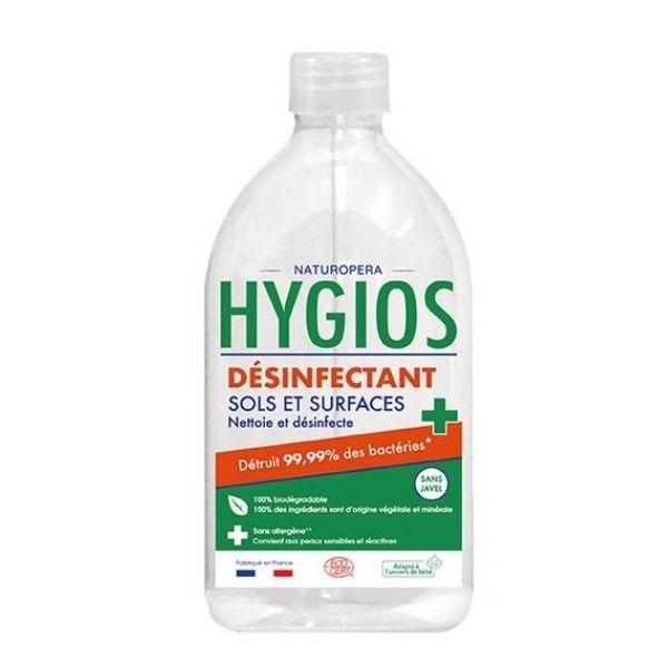 DÉSINFECTANT SOL ET SURFACES 1L - HYGIOS / CANOPY