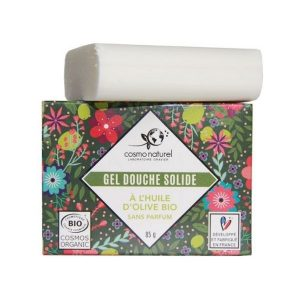 GEL DOUCHE SOLIDE HUILE OLIVE 85g - COSMONATUREL / CANOPY