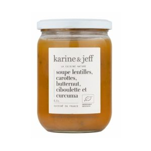 SOUPE LENTILLES CAROTTES 500ml - KARINE & JEFF / CANOPY