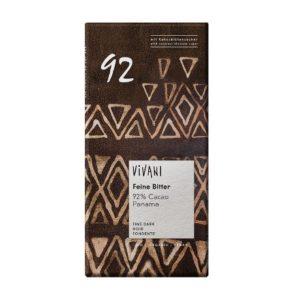 CHOCOLAT NOIR 92% CACAO PANAMA 100g - VIVANI / CANOPY