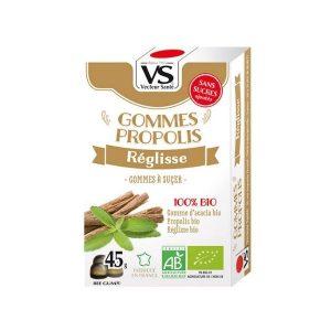GOMMES PROPOLIS/REGLISSE BIO 45g - VECTEUR SANTÉ / CANOPY