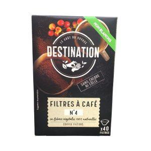 FILTRES À CAFÉ BRUN N4 X 40 - DESTINATION / CANOPY