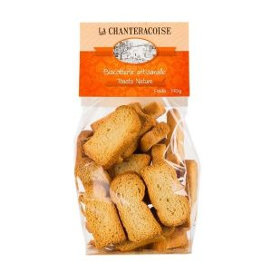 TOASTS NATURE 140g - LA CHANTERACOISE / Canopy