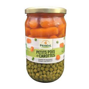 PETITS POIS ET CAROTTES 720ml - PRIMÉAL / CANOPY