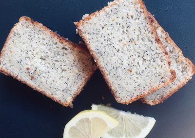 Cake au Citron-Pavot