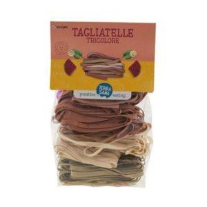 TAGLIATELLE TRICOLORE 250g - TERRASANA / CANOPY