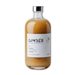JUS DE GINGEMBRE CONCENTRÉ BIO 500ml - GIMBER / CANOPY