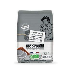 DOSETTES CAFÉ 100% ARABICA X36 - BIODYSSÉE / CANOPY