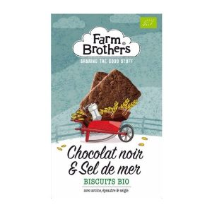 BISCUITS CHOCOLAT SEL MARIN 150g - FARM BROTHERS / CANOPY