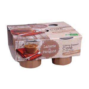 CRÈME DESSERT CAFÉ 4X 105g - LAITERIE DU PÉRIGORD / CANOPY