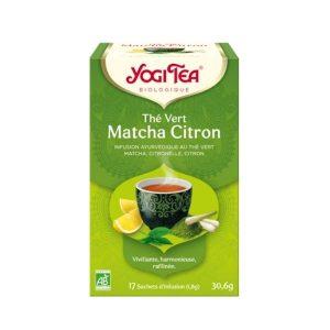 THÉ VERT MATCHA CITRON X17 - YOGI TEA / CANOPY
