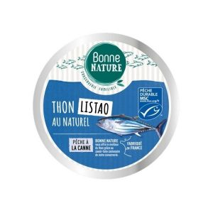 THON LISTAO MSC AU NATUREL 160g - BONNE NATURE / CANOPY