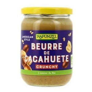 BEURRE DE CACAHUETE CRUNCHY 500g - RAPUNZEL / CANOPY