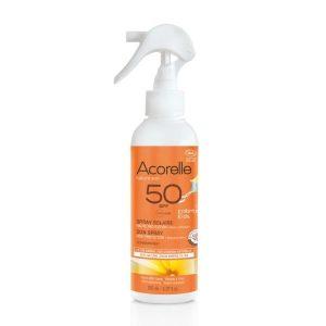 SPRAY SOLAIRE ENFANTS SPF50 150ml - ACORELLE / CANOPY