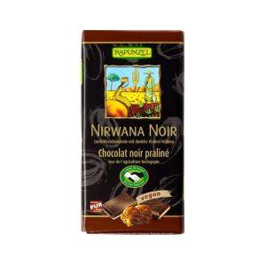 CHOCOLAT NOIR FOURRÉ PRALINÉ 100g - Rapunzel / CANOPY