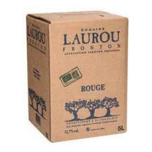 FRONTON ROUGE 5L - LAUROU / CANOPY