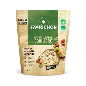 MUESLI RAISIN NOISETTE AMANDE - 1.2kg - FAVRICHON / CANOPY