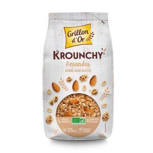 KROUNCHY AVOINE AMANDES SANS GLUTEN 500g - GRILLON D OR / CANOPY