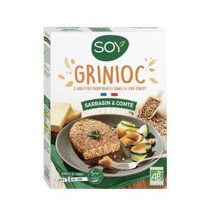 GRINIOC SARRASIN-COMTE 2X100g - SOY / CANOPY