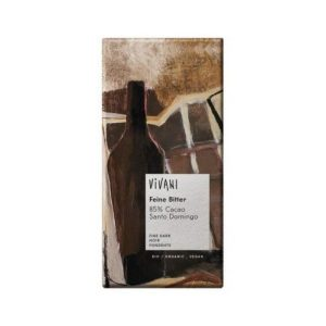 CHOCOLAT EXTRA NOIR 85% 100g - VIVANI L'ART DU CHOCOLAT / CANOPY