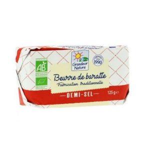 BEURRE DE BARATTE MOULÉ 1/2 SEL 250g - GRANDEUR NATURE / CANOPY