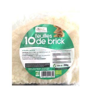 FEUILLES DE BRICK 10X 18g - DELICES DU CHEF / CANOPY