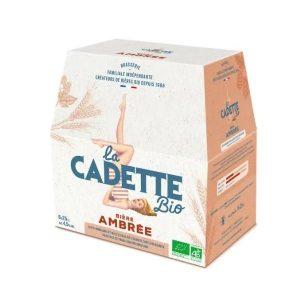 BIERE AMBRÉE 6X 25cl LA CADETTE / CANOPY
