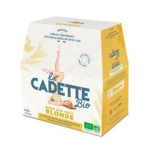 BIERE BLONDE 6X 25cl LA CADETTE / CANOPY