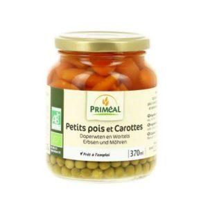 PETITS POIS ET CAROTTES 370ml - PRIMÉAL / CANOPY
