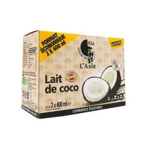 LAIT COCO PACK 2 X 400ml - AUTOUR DU RIZ / CANOPY