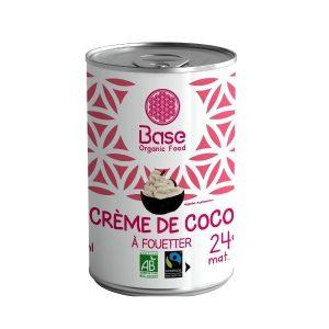 CREME DE COCO À FOUETTER 400ml - BASE / CANOPY