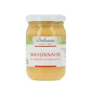 MAYONNAISE PIMENT D'ESPELETTE 180g - DELOUIS / CANOPY